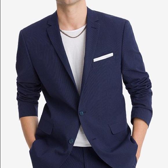 a97676333d88 Macy's Bar III Suits & Blazers | Mens Macys Bar Iii Slim Fit Navy ...